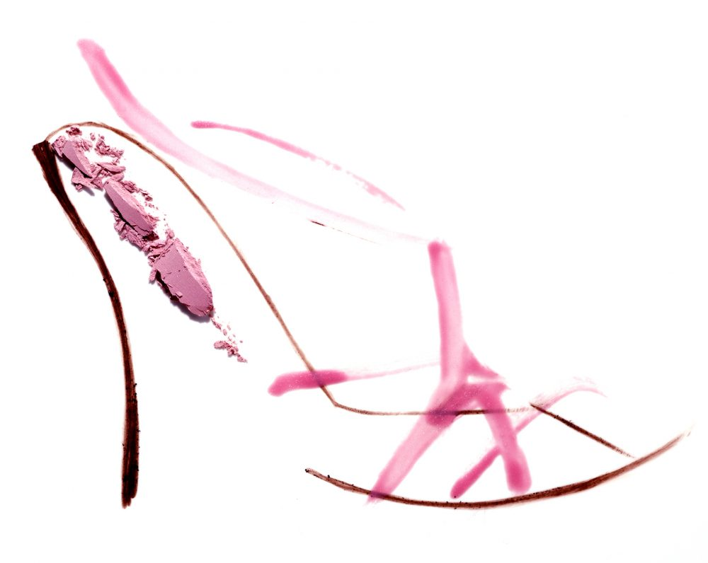 dessin, maquillage,chaussure,still life,photography